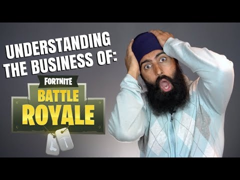FORTNITE - Understanding The Business Of A $100,000,000/Month Video Game