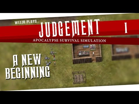 Judgment: Apocalypse Survival Simulation Gameplay - A New Beginning, Ep.1 |