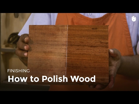 How To Polish Wood Woodworking Youtube