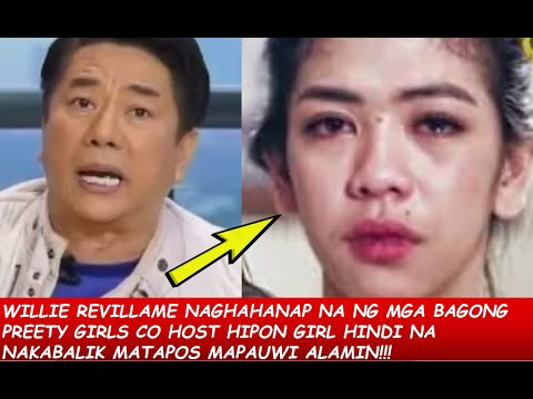 WILLIE REVILLA TULUYAN NG TSINUGI SI HIPON GIRL AT IBA PANG CO HOST SA WOWOWEEN LIKE DONITA NOSE ?!! -  (2020)
