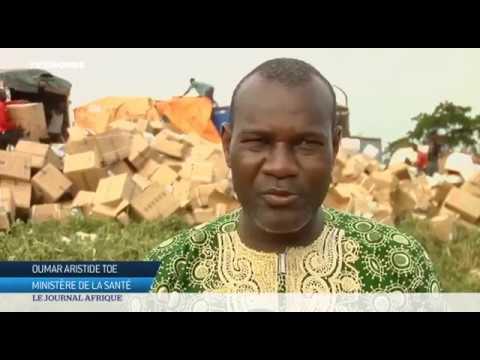 La Côte d'Ivoire brûle 50 tonnes de faux médicaments