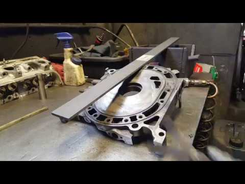 Mazda Rx7 Mazda Rx8 Rotary Engine Rebuild Cleaning And Inspecting The Irons