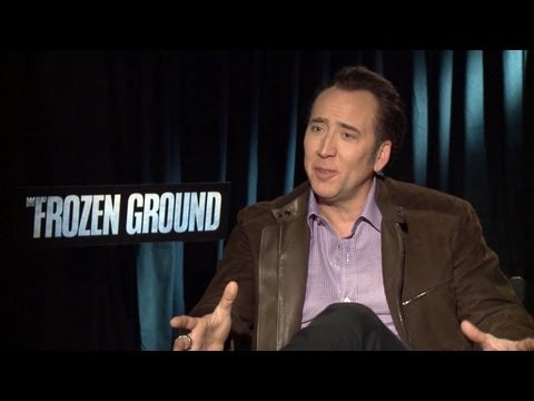 Nicolas Cage Talks Frozen Ground, Expendables 3 & More!