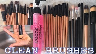 BEST Way To Clean Makeup Brushes // Cheap & Easy