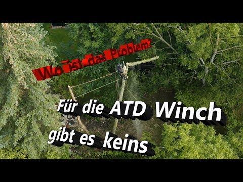 Null Problemo Für Die ATD Winch I Sturmschaden I SKT I Bades Baumdienst