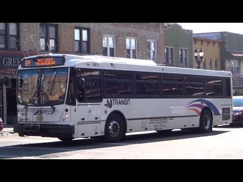 NJT Bergenline Avenue Bus Compilation!!!