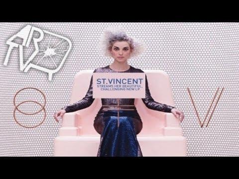 """St  Vincent """"St. Vincent"""" (ALBUM REVIEW)"""