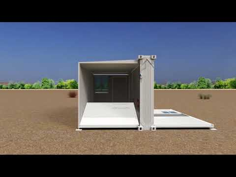 Spacemaker (Byrne Technical Services): Rapid Deployment Buildings