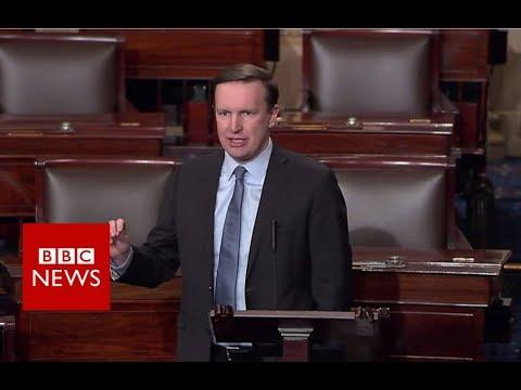 Sandy Hook Senator: 'This happens nowhere else' - BBC News