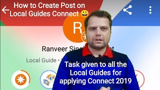 How to Create Post on Local Guides Connect | Local Guides Connect 2019 #localguidesconnect2019