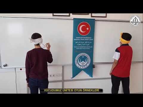 Vücudumuz Konulu Arapça Oyunlar   الألعاب اللغوية عن جسمنا