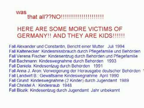 STOLEN KIDS by GERMAN REGIME(human rights Violations  in germany)
