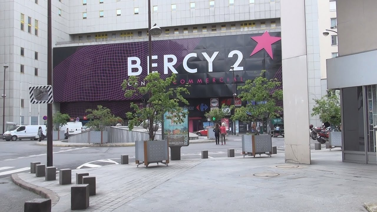 bercy 2 centre commercial in paris france youtube. Black Bedroom Furniture Sets. Home Design Ideas