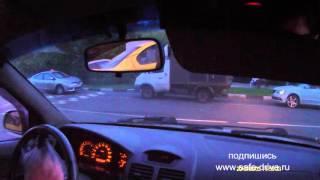Kia Rio механика Урок №7 парковка, регулируемые перекрёстки.