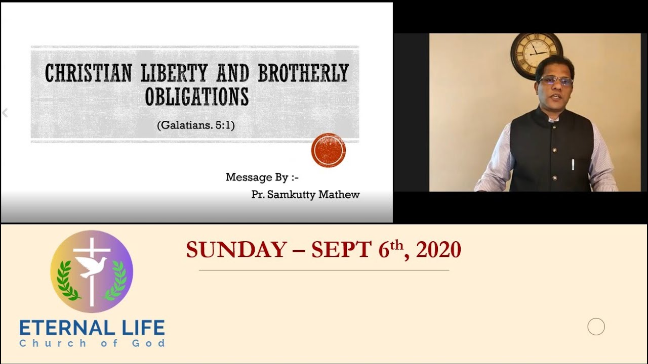 Christian Liberty and Brotherly Obligations (Gal 5:1) - part 1