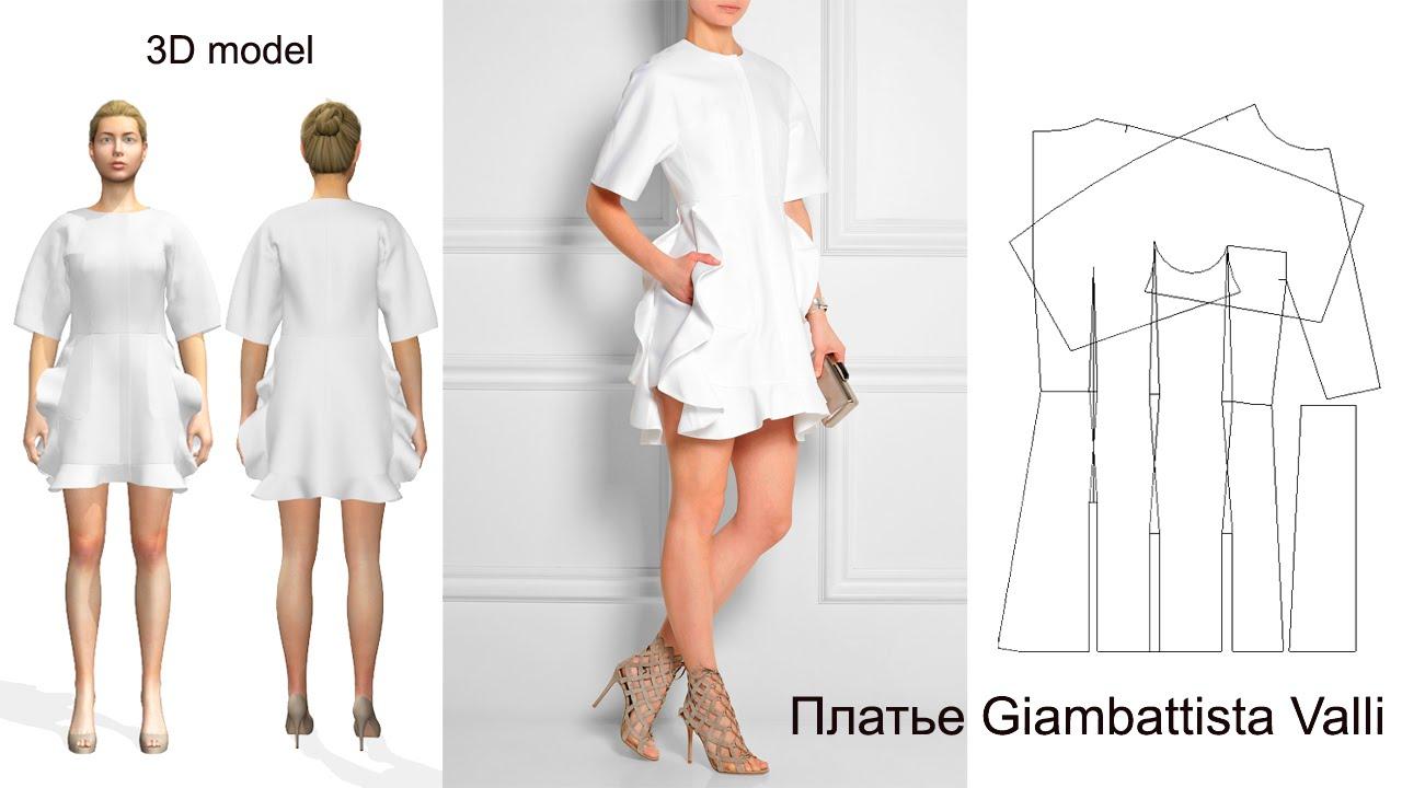 Модели платьев и моделирование