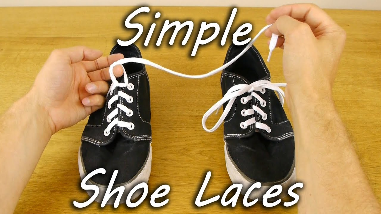 How to Tie Shoe Laces - Teach Children - YouTube