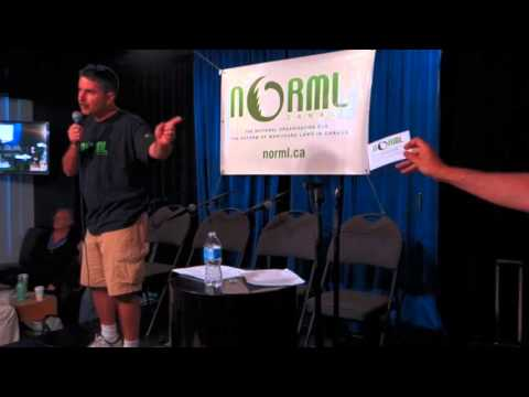 NORML Canada National Conference - Paul Lewin on Election Project