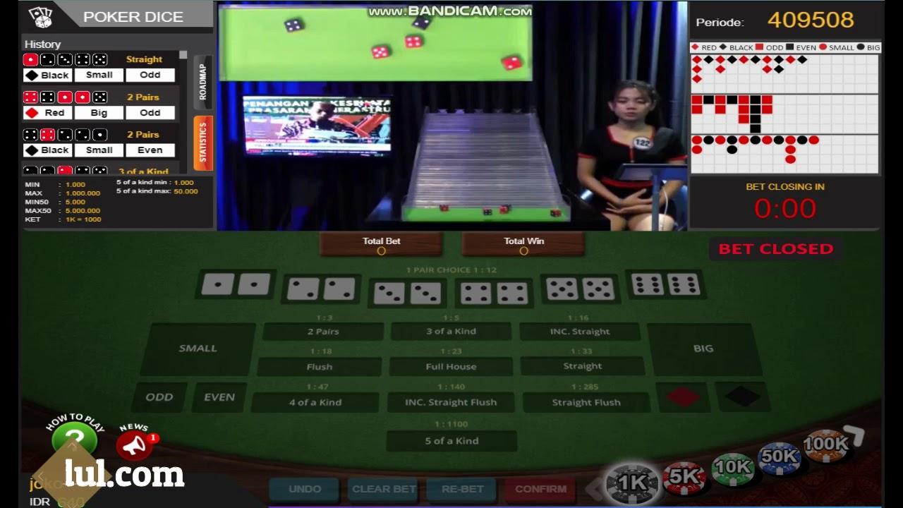 Dadu Poker Online Youtube