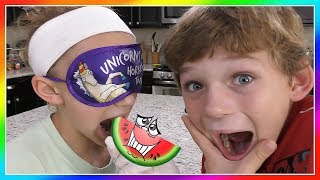 WHAT'S IN MY MOUTH CHALLENGE | We Are The Davises