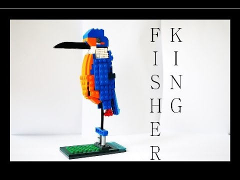 Lego Bird Instruction Kingfisher Youtube