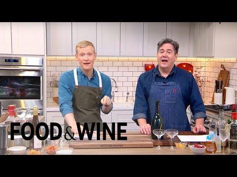 Wine & Dessert Pairs & Champagne Cocktails | Mad Genius Live | Food & Wine