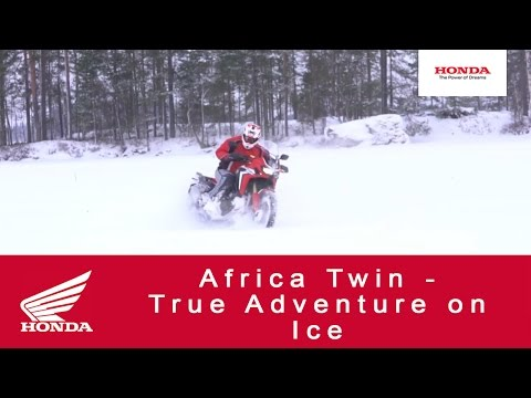 Africa Twin - True Adventure On Ice