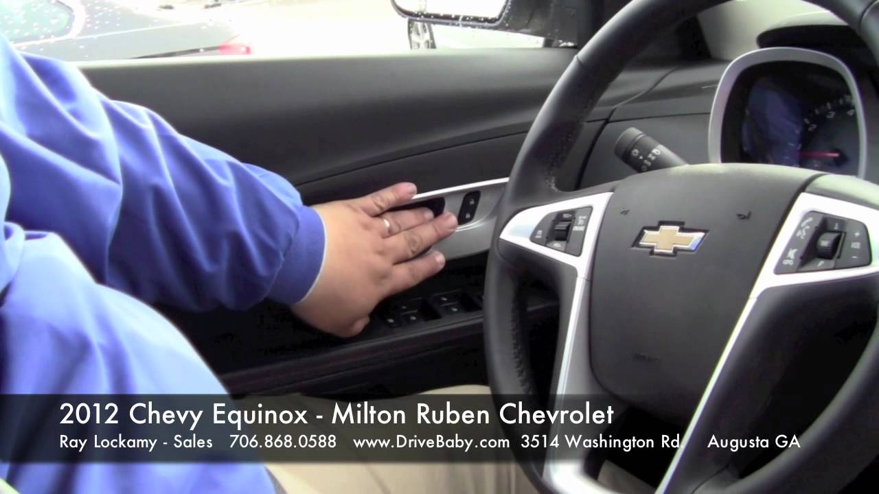 2012 Chevy Equinox Walkaround And Test Drive Milton Ruben Chevrolet Augusta Ga