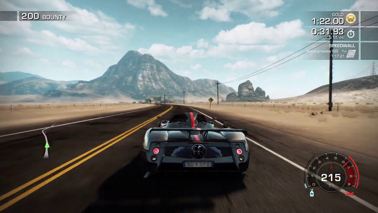 Need for Speed: Hot Pursuit Remastered gameplay - YouTube