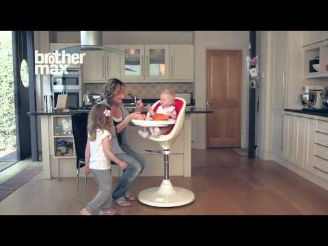 Brother Max Scoop High Chair Pramworld Demo Highchair