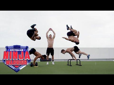 Training Tips: Team AMPM | Australian Ninja Warrior 2018