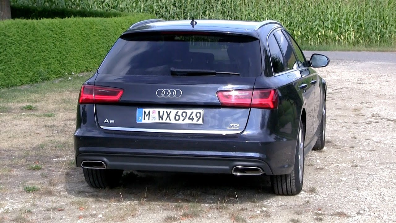 2016 audi a6 avant 3 0 tdi 272 hp test drive youtube. Black Bedroom Furniture Sets. Home Design Ideas
