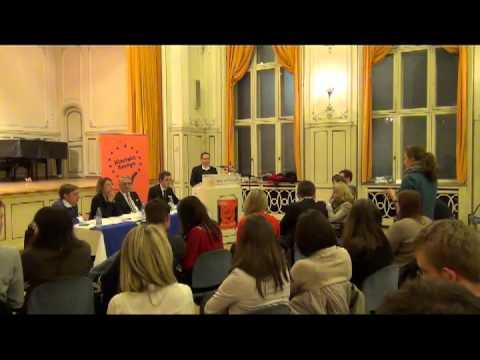 Klartext Europa Debatte in Frankfurt/Main am 14.11.2013