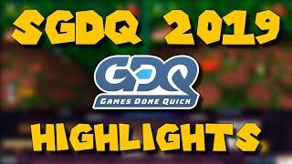 SGDQ 2019 - Best Moments / Highlights / Cringe