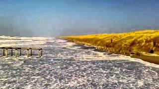 Hoog water Julianadorp aan zee
