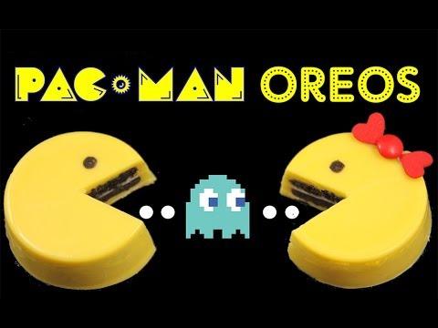 PACMAN Oreo Cookies - NO BAKE Pac Man Oreos by Cupcake Addiction
