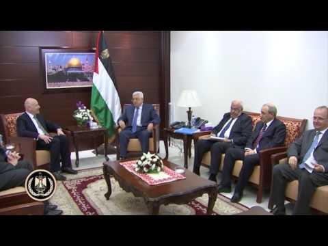 President Abbas receives U.S. President