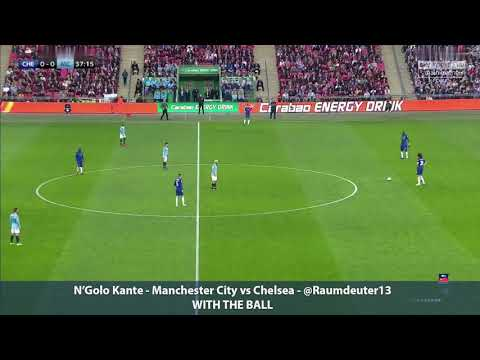 N'Golo Kante's World Class Performance   Manchester City vs Chelsea