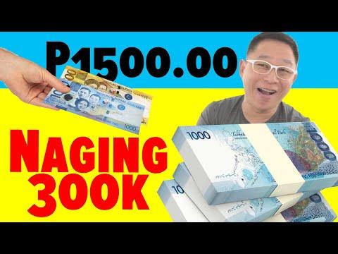 Nakakaintriga Ang P1,500 Niya, Naging P300,000
