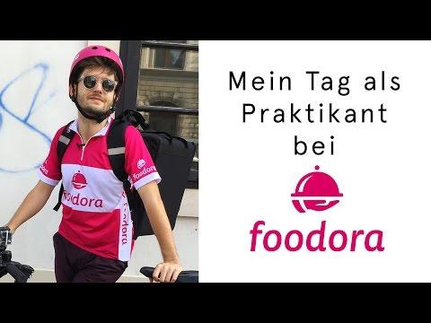 Ein Tag als Foodora-Fahrer | Michaels Praktikum #2