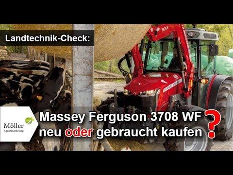 Massey Ferguson 3708 neu oder gebraucht kaufen? MF 3708 WF im Landwirt.com Praxistest
