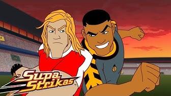 Supa Strikas - Shakes im Zug | Ganze Episoden | Fußball - Cartoons für Kinder