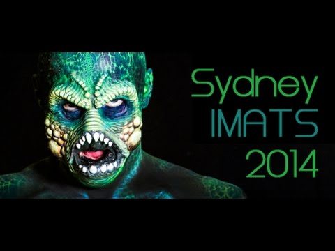 Body Painting at the International Makeup Artists Trade Show - Julie Tattam - Episode 8