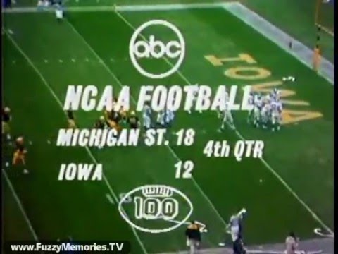 Abc Network Ncaa Football Michigan State Vs Iowa Commercial
