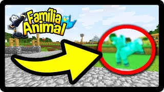 Minecraft: NÓS CRIAMOS UM MONSTRO ಠ_ಠ !!! - FAMÍLIA ANIMAL #13