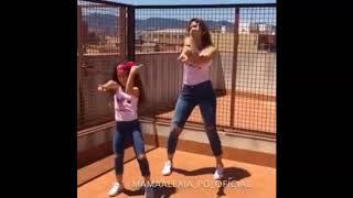 رقص بنت وامها على اغني L'Algérino - Va Bene
