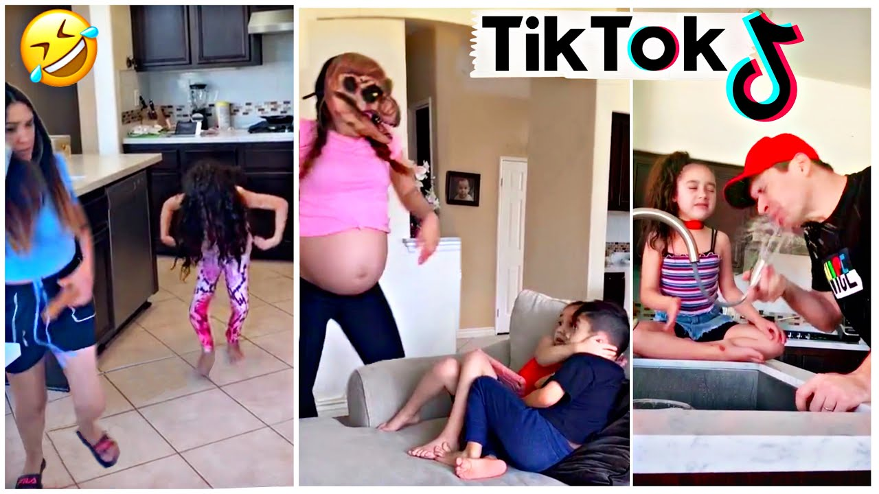 TikTok Try Not To Laugh Challenge *Literally Impossible* | Jancy Family