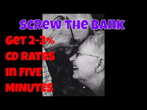 Get the Highest CD Rates in five minutes without going to a bank.