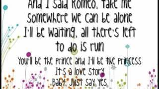 Love Story - Taylor Swift - Karaoke