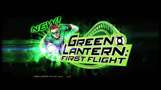 Green Lantern  First Flight Commercial Six Flags Magic Mountain